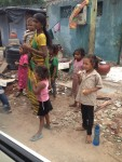 These are children playing outside their home. Each one.... Created in the image of God. Most of the population is Hindu. They need Jesus!